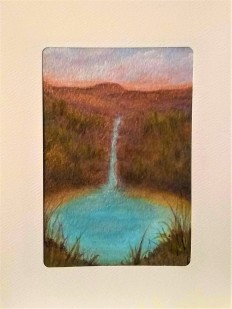 Arizona Waterfall Card