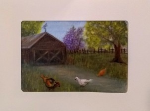 Barnyard Chicks Card