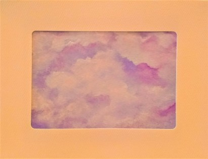 On Top of the Clouds Card