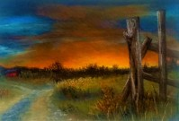 Fence Post Card