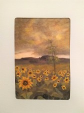 Field of Sunflowers Card