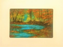 Turquoise Water Card